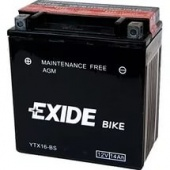 Аккумулятор Exide Bike YTX16-BS (ETX16-BS)