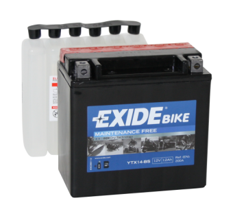 Аккумулятор Exide Bike YTX14-BS (ETX14-BS)